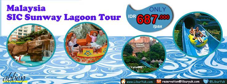 Tidak lengkap rasanya liburan ke #Malaysia tanpa mengunjungi #Sunway #Lagoon. Yuk dapatkan paketnya sekarang juga dengan harga spesial ! Dapatkan Spesial Paket tersebut dari #LiburYuk http://liburyuk.com/bookitem/70/2014-05-20/SIC-Sunway-Lagoon-Tour #jalan2 #holiday #AbbeyTravel