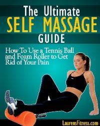 Tennis ball massage tight trigger points