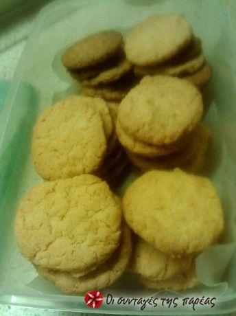 Τραγανά μπισκότα του λεπτού