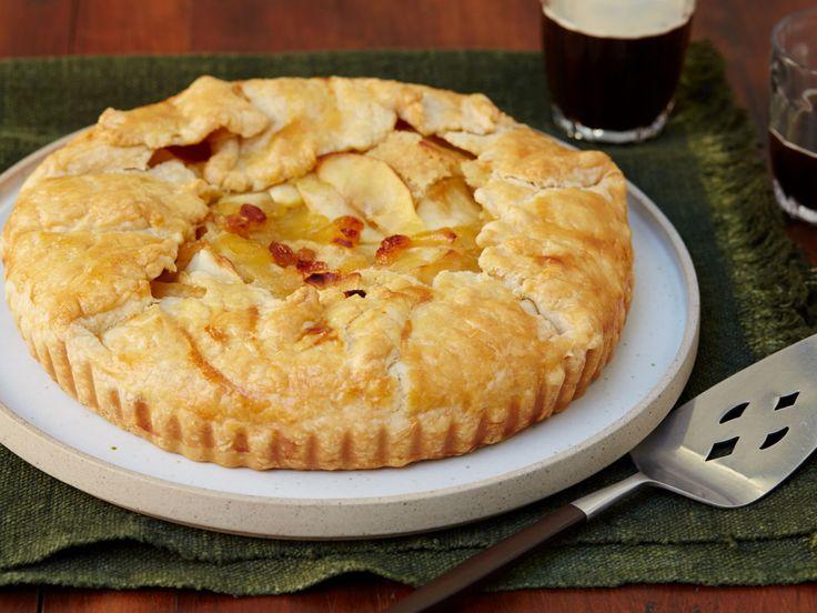 Apple Brown Butter Tart recipe from Anne Burrell via Food Network