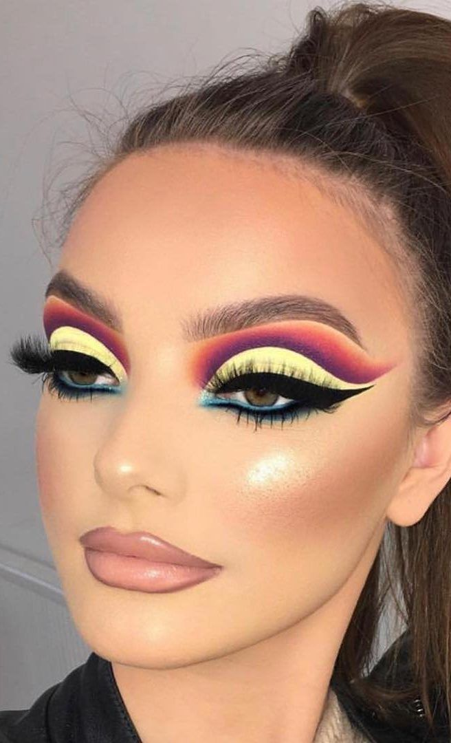 35 Fun Colorful Eyeshadow Ideas For Makeup Lovers Page 20 Of 35