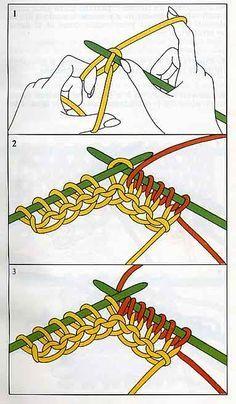 La maglia tubolare, detta anche maglia doppia, un tipo di maglia che richiede un lavoro diverso rispetto al solito, ed anche un diverso modo di chiuderla.