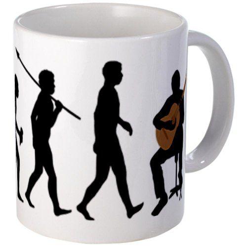 Guitar Mug Gift - CafePress - Classical Guitar - Mug - amazing guitar gifts #guitar #guitarmug