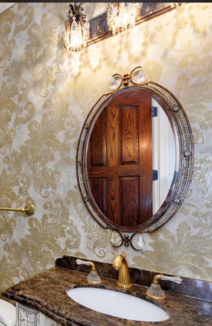 Chicago premium penthouse: Metropolitan Tower with ornate bathroom