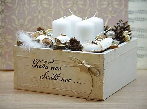 Inkadar / Vianočná vintage dekorácia
