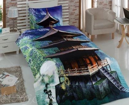Купить постельное белье из ранфорса ВОСТОЧНЫЙ ДОМ 3D Digital 1,5-сп от производителя Virginia Secret (Турция)