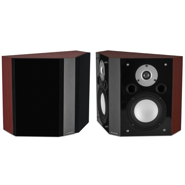 Image of Fluance XLBP Wide Dispersion Bipolar Surround Sound Speakers for Home Theater