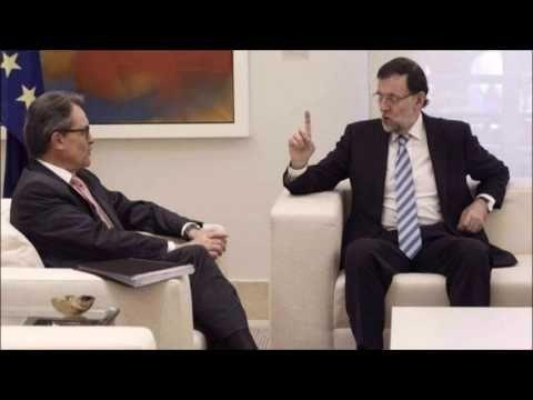 Mariano Rajoy y Artur Mas, enemigos en Barcelona y amigos en Madrid