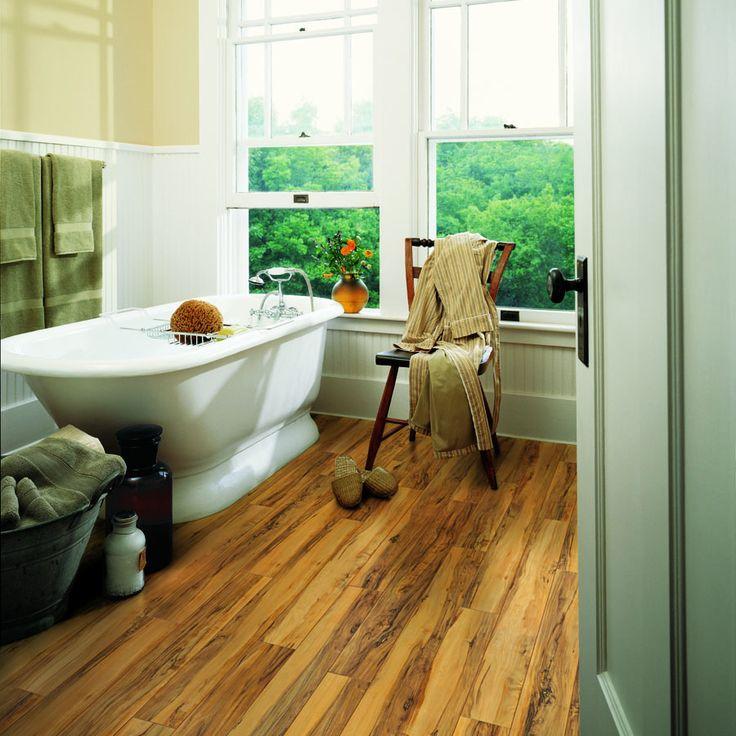 Shop Pergo Max 5 35 In W X 47 59 In L Montgomery Apple Laminate Flooring