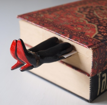 Christian Louboutin bookmark