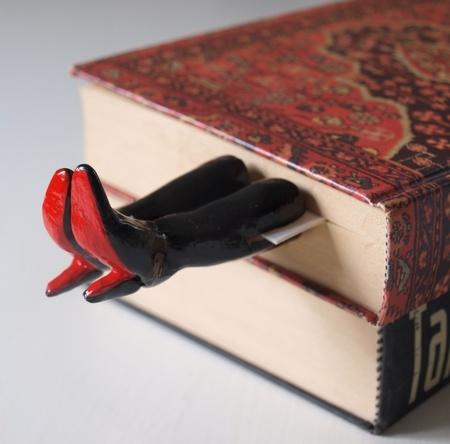 Christian Louboutin bookmark