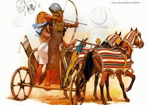 Techniekles ''De Slag bij Kadesh'' van meester Peer. Dit is een super leuke en een spannende techniekles. Opdracht: Bouw van slap materiaal een sterke strijdwagen. En ... win de battle!