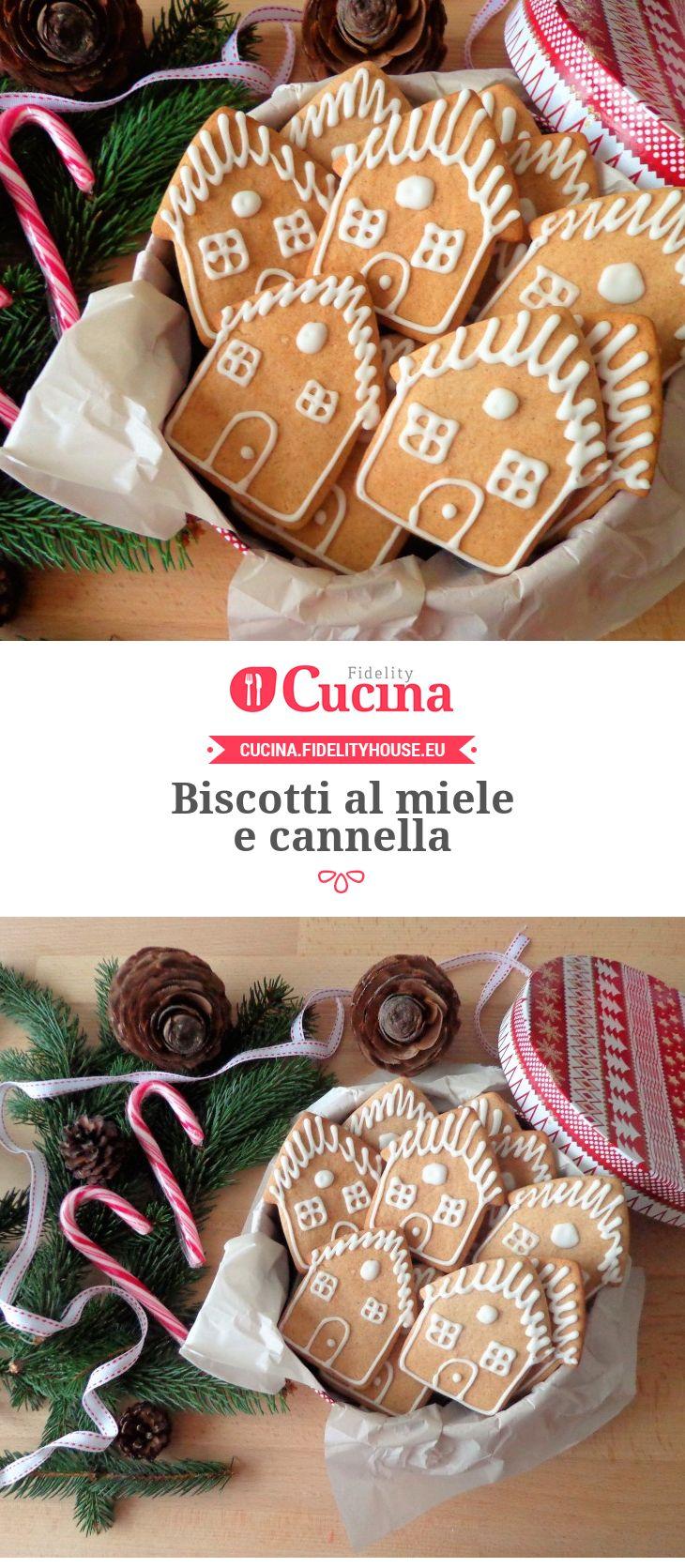 Biscotti al miele e cannella della nostra utente Magdalena. Unisciti alla nostra Community ed invia le tue ricette!
