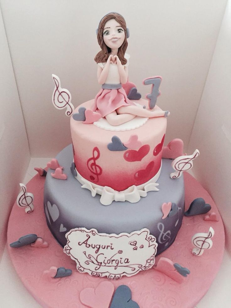 violetta love cake