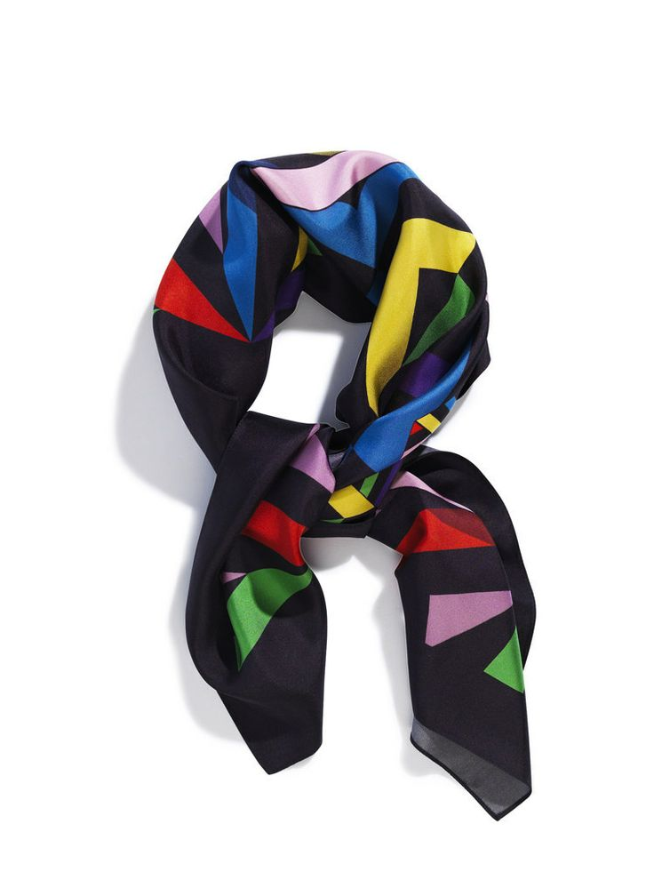 Image of Silk scarf, print Cathedral