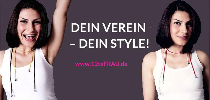 """Unser Fanschmuck-Tipp für Fußball-Frauen Die """"Viererkette"""" Kristall, KOMBINATIONEN  http://www.12tefrau.de/meine-farben/mein-verein/118/-viererkette-kristall-kombinationen?c=24"""