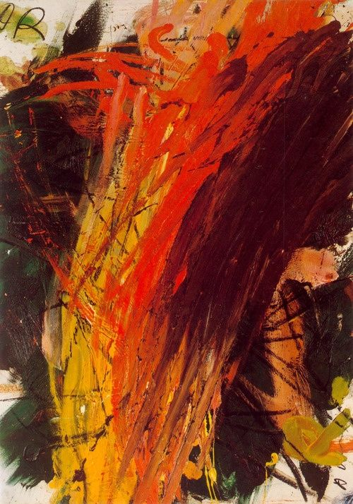 Arnulf Rainer.     and here