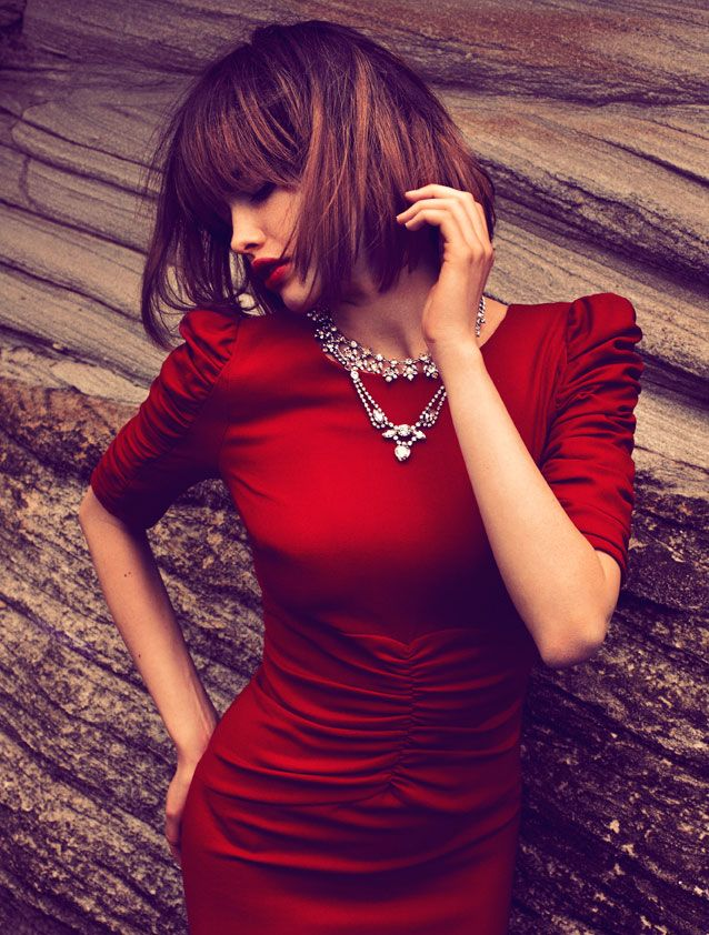 Red.Fashion Quarter, Little Red, Red Dresses, Hot Dresses, Long Hair, Hair Cut, Hair Style, The Dresses, New Zealand