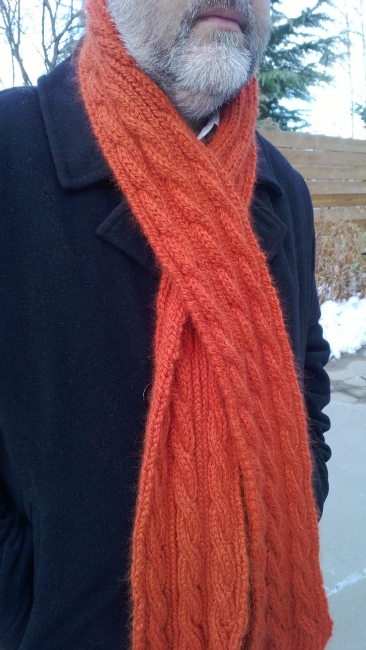 105 best knit boysmen images on pinterest baby afghans filet diy pattern for cable knit scarf bankloansurffo Gallery