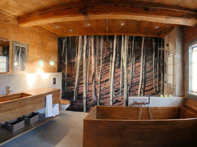 déco en bois moderne