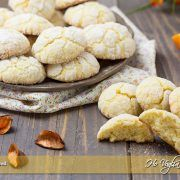 Biscotti all'arancia morbidi