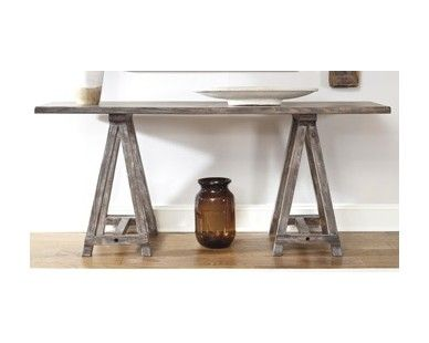Relaxed Look Sofa Table   Sam Levitz Furniture