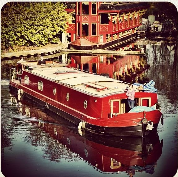 17 Best Images About Houseboats Floating Homes On