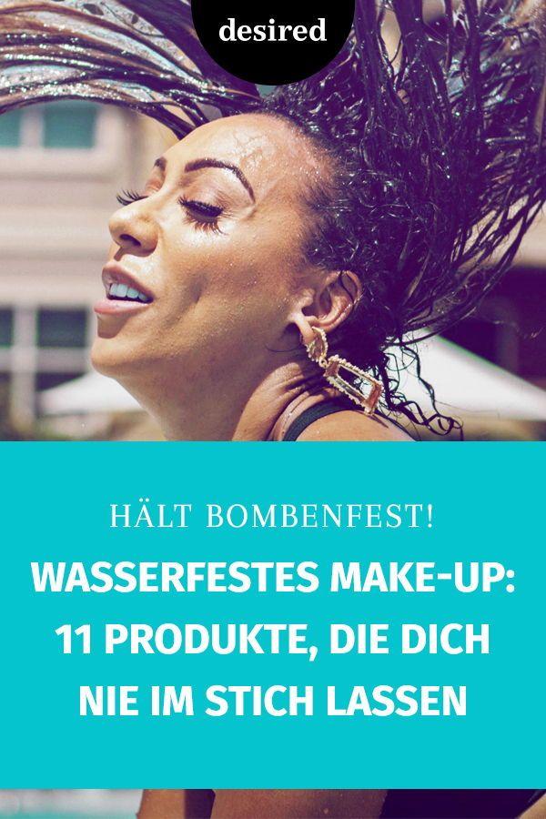 Wasserfeste Make Up