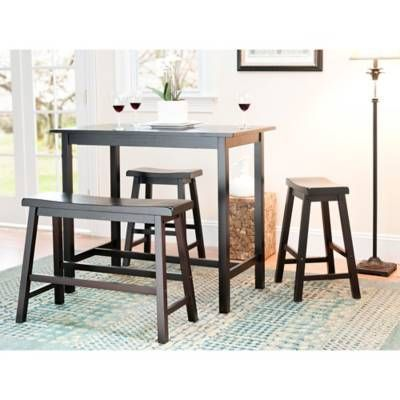 product image for Safavieh American Home Ron in 4-Piece Pub Table Set