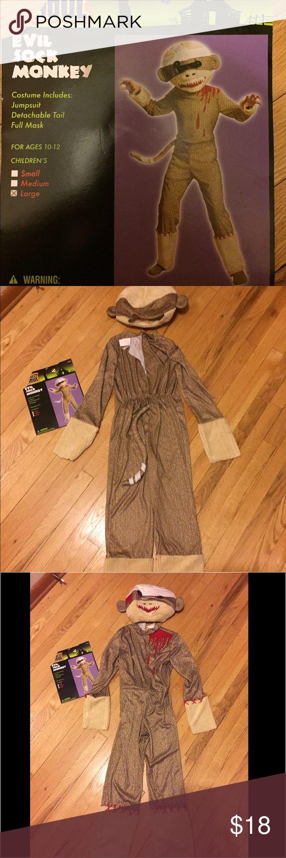 Sock monkey costume Sock monkey costume Other