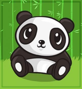 How to Draw a Cute Panda, Step by Step, forest animals, Animals, FREE Online Drawing Tutorial, Added by Dawn, May 26, 2010, 12:19:42 am