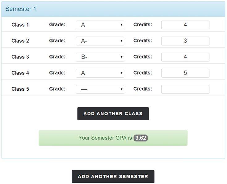 Best 25 semester grade calculator ideas on pinterest math college gpa calculator semester gpa total ccuart Choice Image
