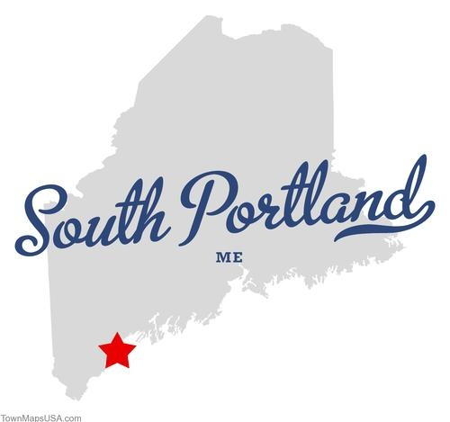 south portland, maine | Map of South Portland Maine ME