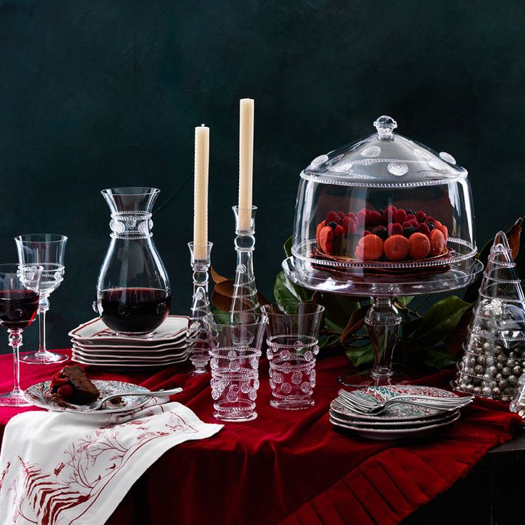 Sweet nibbles & swirling sips pair perfectly with our dazzling Bohemian glass, masterfully mouth-blown in the Czech Republic. #decadentdessert #bohemianglassware