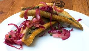 Image result for Roast Fish with Sicilian Sweet-and-Sour Onions