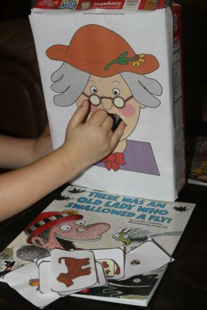 There Was An Old Lady Who Swallowed a Fly Book and Fun Kids Activities!