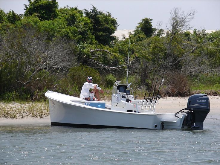 NC style modern skiff. Still has that old workboat beauty tho. Gorgeous | Boats | Pinterest ...