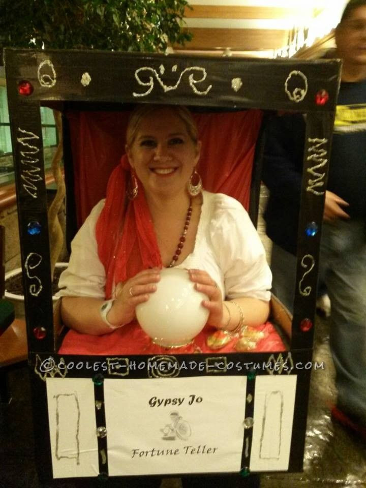 17 Best Images About Halloween Camp Fortune Teller On