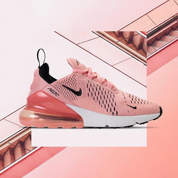 Nike Air Max 270 Pink in 2020 | Hipster shoes, Nike air
