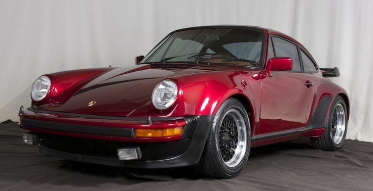 Candy Apple Red 1978 Porsche 930 Turbo #Porsche #porsche930 #porsche930turbo