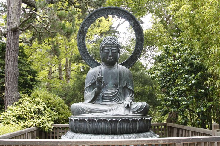 Buddha Statues For The Garden: Buddha Statue At The Japanese Tea