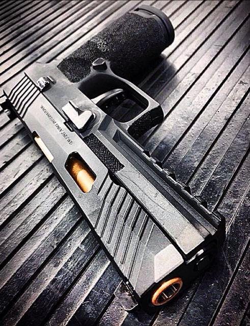 Salient Arms International's Sig Sauer P320 prototype