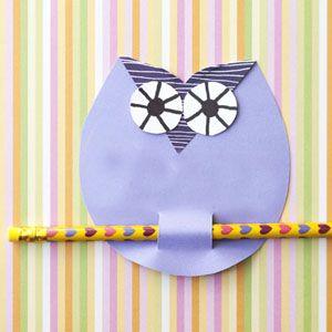 Civetta - applicazione di carta per i bambini
