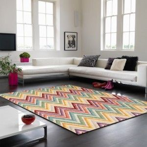 Verve VE04 Multi Abstract Rug By Asiatic