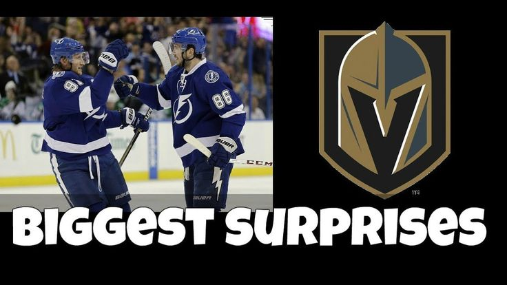 Biggest surprises 10 games into the NHL season