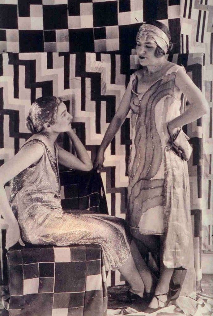 Encore Decor - Blog - Sonia Delaunay: Textiles in Fashion at the Cooper-Hewitt