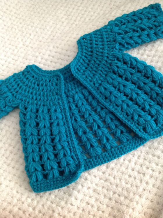 Free crochet baby cardigan pattern. *sigh* if I do ever manage to get pregnant, I'm really going to need to make some friends that crochet