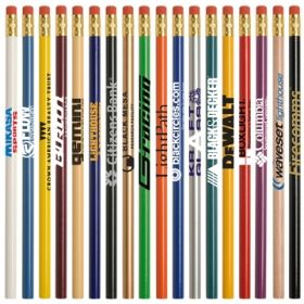 Promotional Products Ideas that work: Jo-bee economy line round pencil. Made in USA  Get yours at www.luscangroup.com