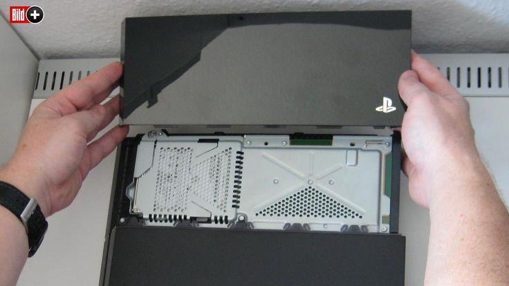 MEHR SPEICHERPLATZ So tauschen Sie die PS4-Festplatte Spielkonsolen-Ratgeber Teil 5