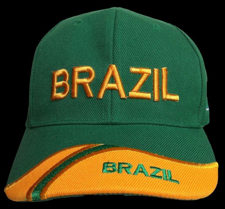 BRAZIL BRASIL WORLD CUP SOCCER PLAYER BASEBALL HAT CAP #brazil #brazilcap #brazilhat #brazilbaseballcap #brazilbaseballhat #baseballcap #baseballhat